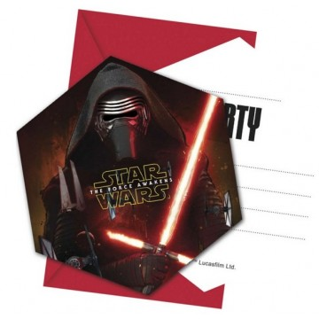 Invitationer - Star Wars: The Force Awakens