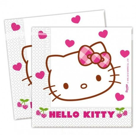 Hello Kitty servietter