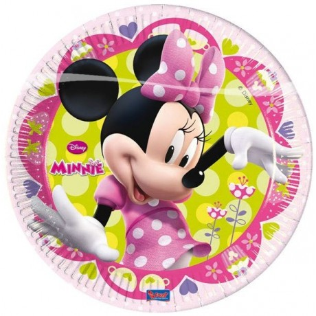 Minnie Mouse paptallerkner