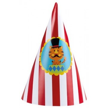 Partyhatte - Cirkus Fisher Price