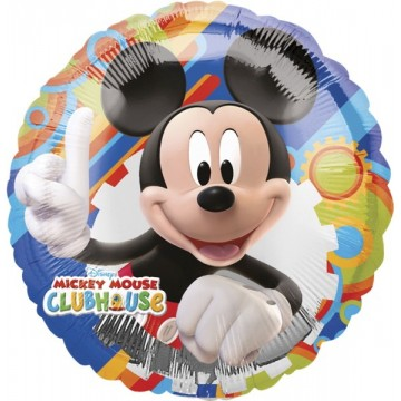 Rund Mickey Mouse folieballon