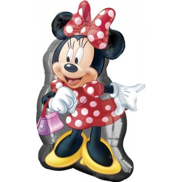 Stor Minnie Mouse folieballon