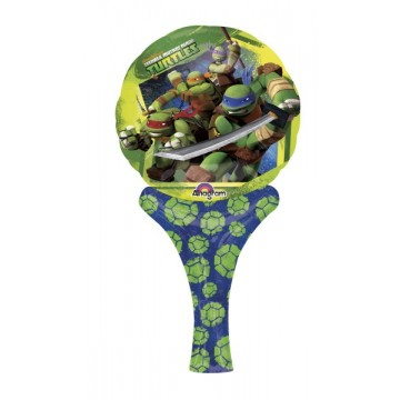 Oppustelig Ninja Turtles folieballon