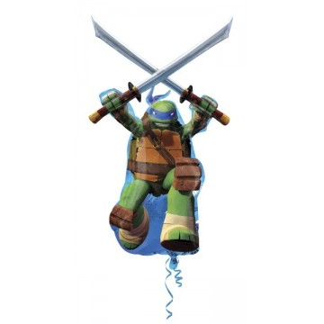 Stor Ninja Turtles Leonardo folieballon