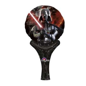 Oppustelig Star Wars folieballon