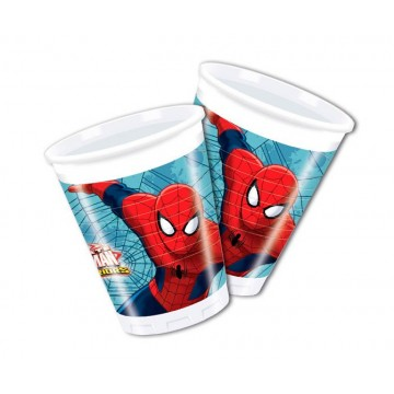 Spiderman Warriors plastkrus