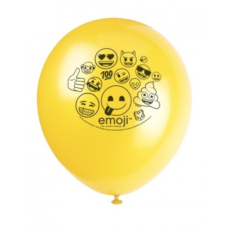 Emoji Smiley balloner