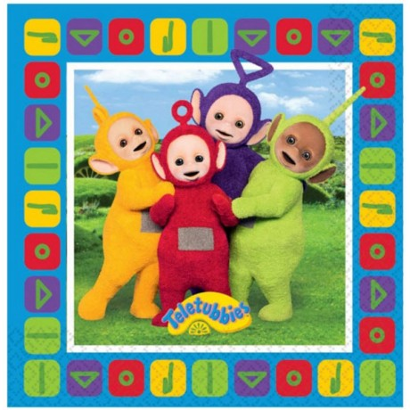 Teletubbies servietter