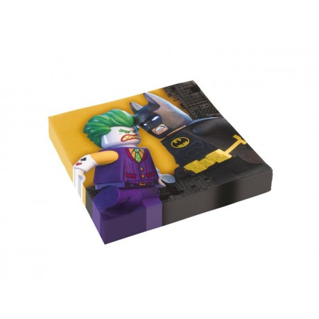 Lego Batman servietter - 20 stk.