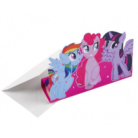 My Little Pony LILLA invitationer