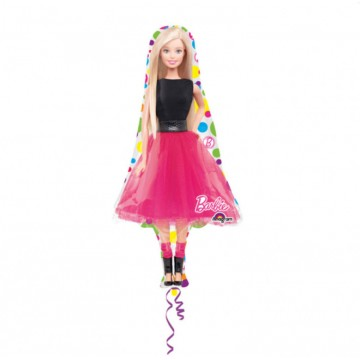 Stor Barbie folieballon