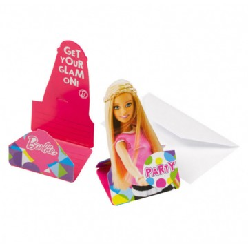 Barbie Sparkle invitationer