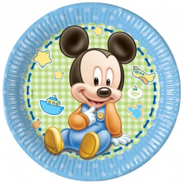 Baby Mickey Mouse paptallerkner