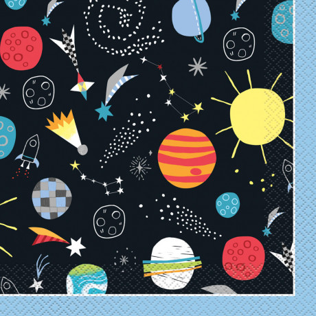 Outer space servietter