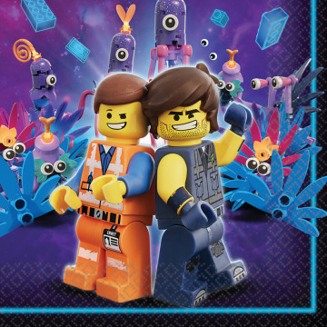 Lego movie servietter - 16 stk.