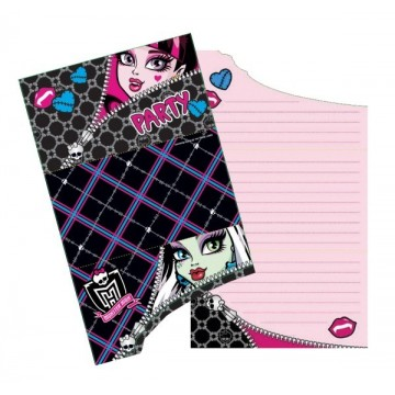 Invitationer - Monster High